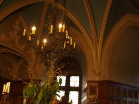 Salle à manger du chateau de rambures