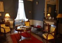 Salon bleu du chateau fort de rambures