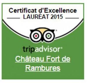 Rambures, certificat d'excellence 2015!