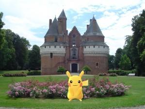 venez chasser les pokemons sur le domaine!!