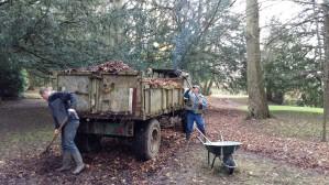 Le ramassage des feuilles