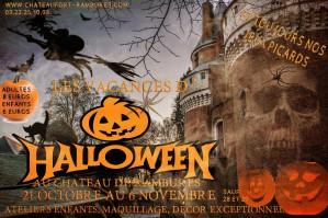 Les vacances d'Halloween c'est à Rambures que ça se passe !!!