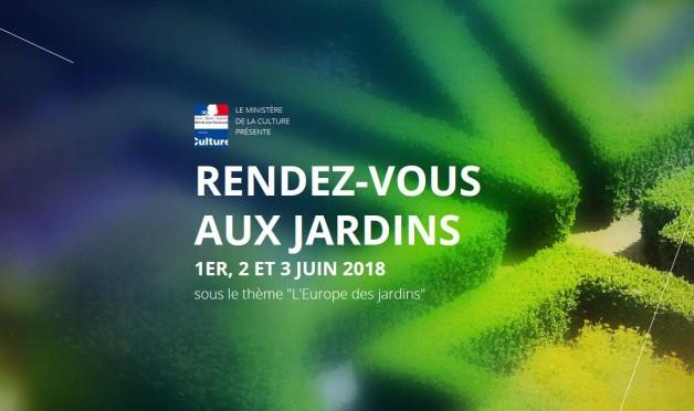 2 & 3 Juin: les rendez-vous aux jardins