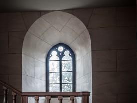 fenetre de l'ancienne chapelle