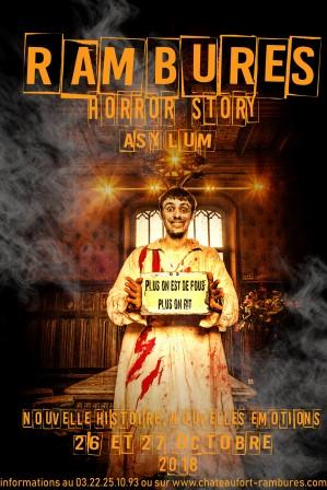 26 & 27 Octobre: Rambures Horror Story Asylum