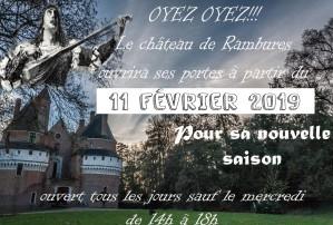 du 11 Fevrier au 25 Fevrier: Bienvenue à Rambures