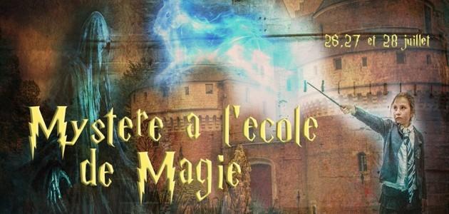 mystere à l'ecole de magie