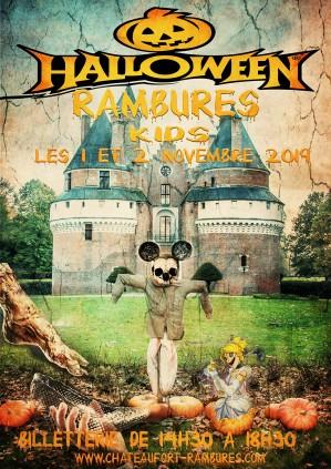 1et 2 Novembre: Rambures Halloween Kids