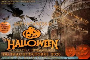 les vacances d'Halloween