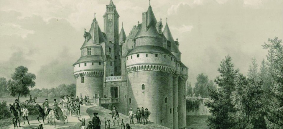 La Château de Rambures au 17ème siècle