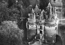 le château dans les années 60