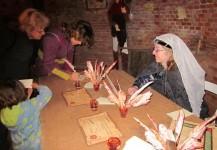 atelier caligraphie aux journeees du patrimoine