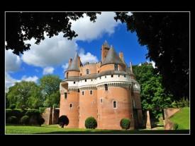 Chateau de Rambures en Picardie