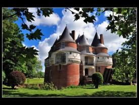 Chateau Rambures en Picardie