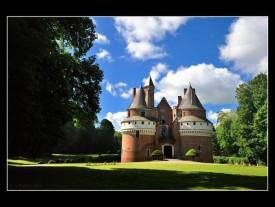 Chateau Rambures en baie de somme
